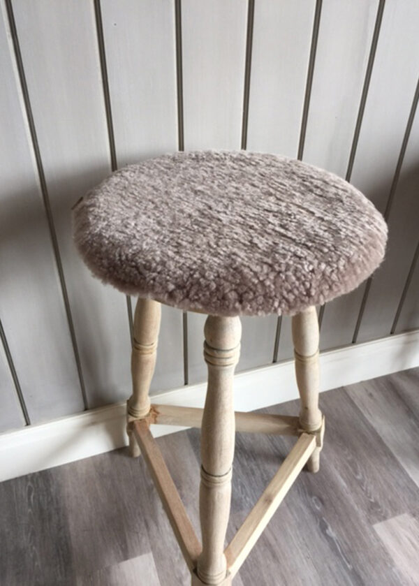 Sheepskin Seat Pads Brown